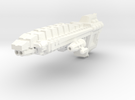 Javelin Patrol Cruiser in White Strong & Flexible Polished