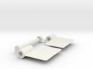 Locking Hinge in White Strong & Flexible