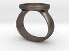 Bitcoin Ring in Premium Silver