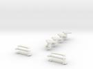 Plan U n-schaal (1:160) reserve koppelingen in White Strong & Flexible