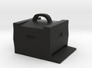 beehive keychain Bienenkasten Schlüsselanhänger in Black Strong & Flexible