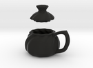 Soup Filled Dumpling Mug in Black Strong & Flexible