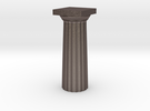Parthenon Column Top (Hollow) 1:100 in Stainless Steel
