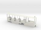 Min Rail Railcar in White Strong & Flexible