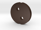 Keychain for a family - Children Parts in Matte Bronze Steel