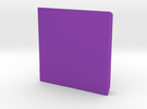 Extrude -2  in Purple Strong & Flexible Polished