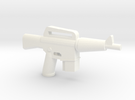 CAR-15 in White Strong & Flexible Polished