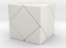 Twistopoly: Skewb in White Strong & Flexible
