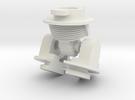 Robot V Hips in White Strong & Flexible