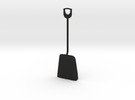 1/8 size coal shovel in Black Strong & Flexible