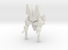 Spaceship type D in White Strong & Flexible