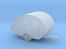 Wohnwagen in 1:220 für Spur Z in Frosted Ultra Detail
