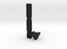 "GoPro "" Selfie "" Fixed mount in Black Strong & Flexible"