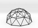 2V Dome - Medium in Black Strong & Flexible