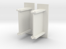 Kleine abri beton schaal N in White Strong & Flexible