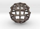 Brick Sphere 2 in Stainless Steel