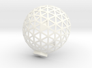Geodesic Dome 6,1 1 in White Strong & Flexible Polished