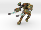 Mech suit with twin weapons. (6) in Full Color Sandstone