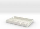 BT RFID Reader - Bottom in White Strong & Flexible