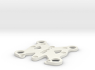 Zenmuse / Tarot Top Plate for Phantom 1 and 2 in White Strong & Flexible