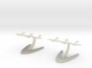 Supermarine Seafire in White Acrylic