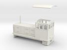 "HOn30 Endcab Locomotive (""Elke"") in White Strong & Flexible"