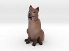 Dog in Full Color Sandstone