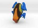Orange Poison Arrow Frog in Full Color Sandstone