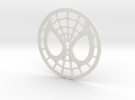 Spidey Face Logo in White Strong & Flexible