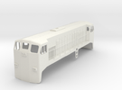 EMD JL8 1:48 Scale in White Strong & Flexible