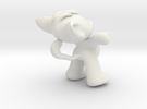 Fafa the mouse in White Strong & Flexible