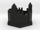 Castle 90mm rev1 in Black Strong & Flexible
