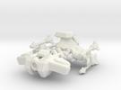 Star Battle Cruiser in White Strong & Flexible