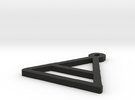 Shapeways Image Popper in Black Strong & Flexible