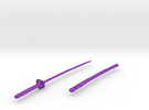 bladessword in Purple Strong & Flexible Polished