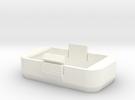 Couvercle batterie pour phantom Dji P2 Petit modèl in White Strong & Flexible Polished