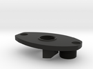 FE sef A3 grip motor plate with screw in Black Strong & Flexible