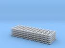 Spur N Steifkupplung x60 wie Tillig 8827 NEM 1:160 in Frosted Ultra Detail