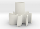 Parabellum Rocket Fin Can in White Strong & Flexible