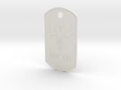 DogTags in White Strong & Flexible