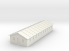 1/350 Barracks 4 in White Strong & Flexible