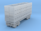 Stock Trailer 1:120 in Frosted Ultra Detail