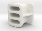 "15mm (1:20.3 / Fn3 / .590"") SCALE, BALDWIN,  LOCOM in White Strong & Flexible"