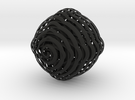 Spiral Sphere in Black Strong & Flexible