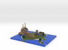 Pirate Island via Mineways! in Full Color Sandstone
