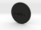 Pommel Insert Saying Igniter in Black Strong & Flexible