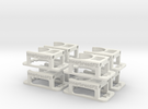 Innerbreed PullPull 24mm Casing v1 (8 pack) in White Strong & Flexible
