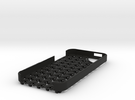 Chain Mail iPhone 5 Case in Black Strong & Flexible