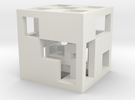 cube_01 in White Strong & Flexible