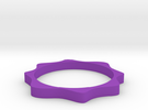 Cosinus ring in Purple Strong & Flexible Polished